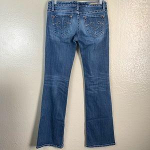 Rerock for Express Boot Jeans 4L Medium Wash Blue